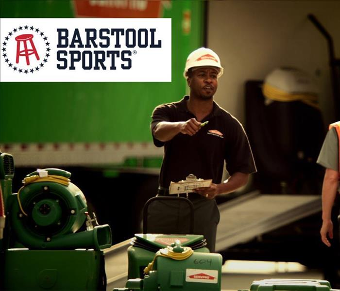 Barstool Sports & SERVPRO of Lower East Side Manhattan Promotion